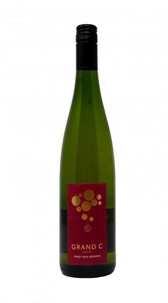 2018 Grand C Pinot Gris Réserve 0,75 l Alsace AC Blanc