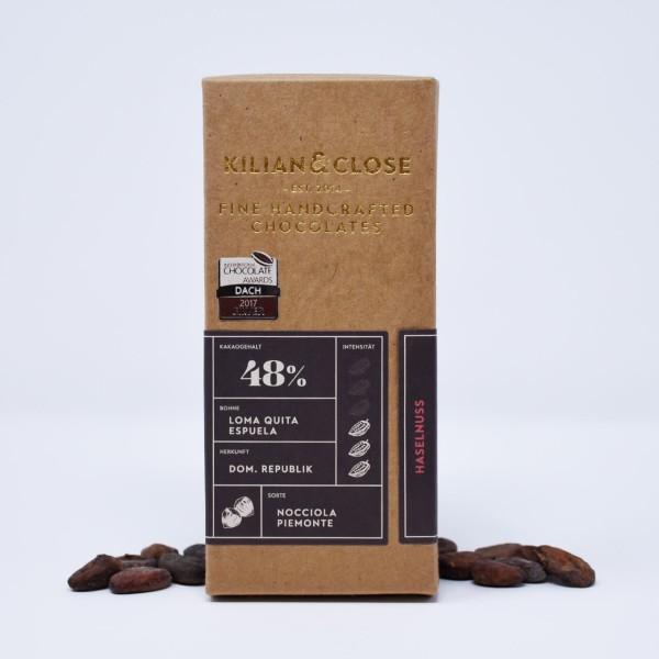 Schokolade - Kilian & Close Nocciola Piemonte
