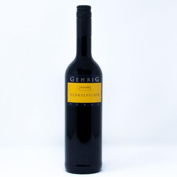 2018 Dunkelfelder Rotwein QbA 0,75 l Weingut Gehrig, Pfalz