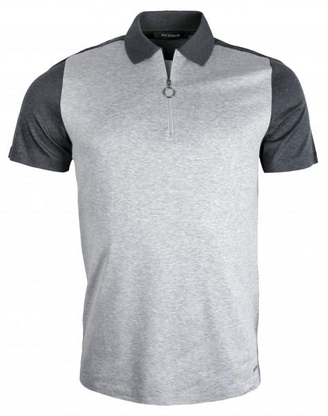 ROY ROBSON Herren Poloshirt aus Baumwoll-Piqué - Slim Fit