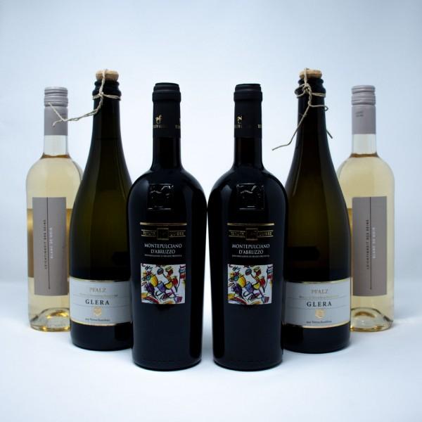 6er Paket Wein