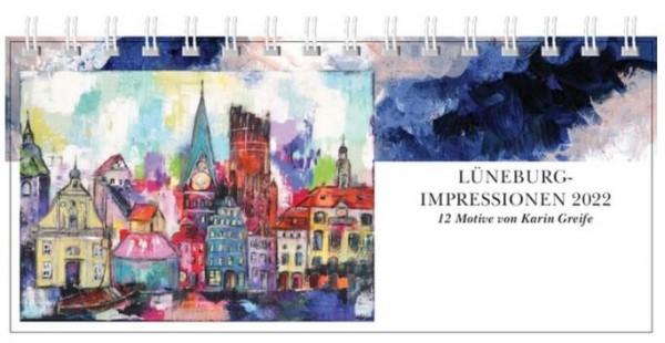 """Tischkalender """"Lüneburg-Impressionen"""" 2022"""