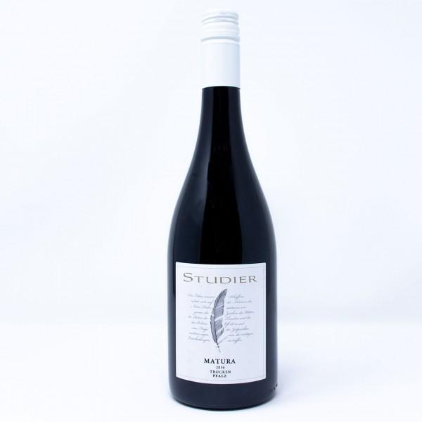 2017 MATURA Rotwein QbA trocken 0,75 l Weingut Studier, Pfalz