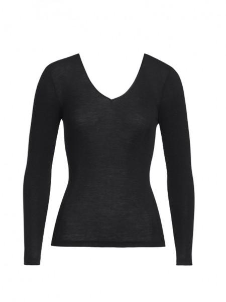 Hanro Woolen Silk Langarm-Shirt