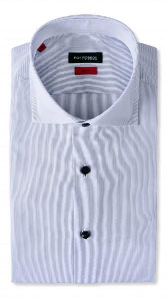 ROY ROBSON Herren Hemd aus Baumwolle Slim Fit Langarm Casual Business