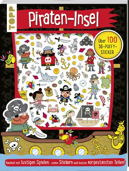 Stickerbuch Pirateninsel