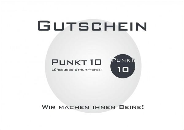Gutschein - Punkt10 Lüneburgs Strumpfspezi