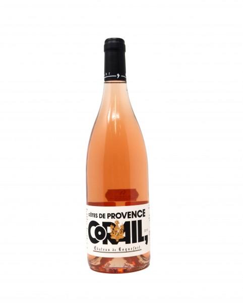 2019 Château de Roquefort CORAIL 0,75 l Côtes de Provence AOP Rosé