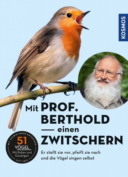 Mit Prof Berthold einen zwitschern