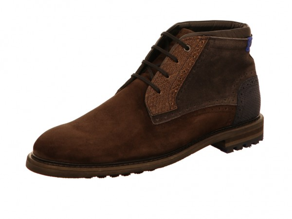 Floris v. Bommel 10978/06 Floris Casual DarkBrown Suede