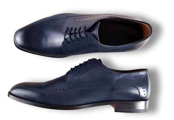 ROY ROBSON Schuhe Kalbsleder mit Ledersohle - blue (5679-A401)