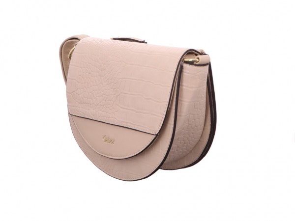 Gabor Bags 8556 211 JANNE Flap bag, croco off whit