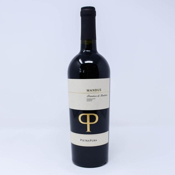 2018 MANDUS Primitivo di Manduria DOP Rosso Rotwein 0,75l