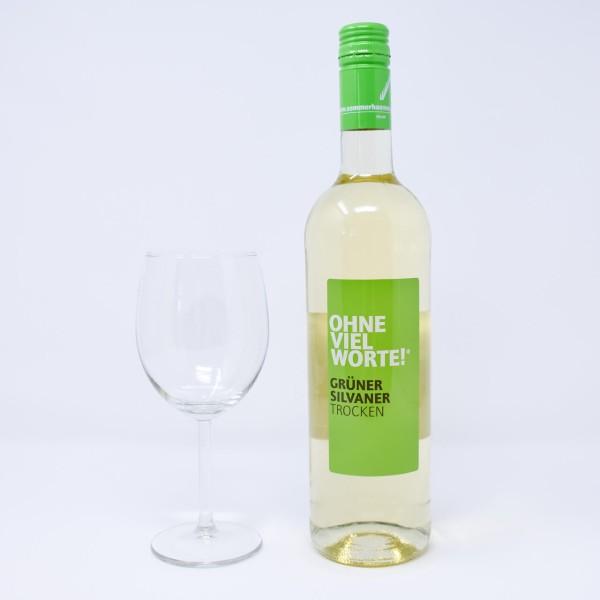 2018 OHNE VIEL WORTE Weißwein trocken