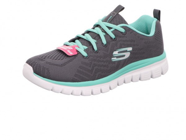 Skechers 12615 CCGR GRACEFUL - GET CONNECTED,charc