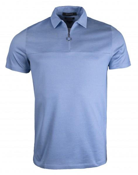 ROY ROBSON Herren Poloshirt, Single Jersey - Slim Fit