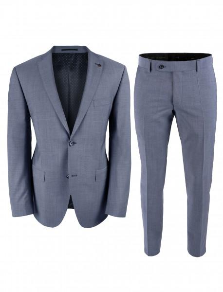 ROY ROBSON Herren Anzug Regular Fit 2-teilig aus Schurwolle Super'100 Business