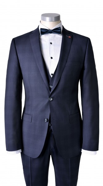 ROY ROBSON Weste Slim fit - blue (5022-H401)