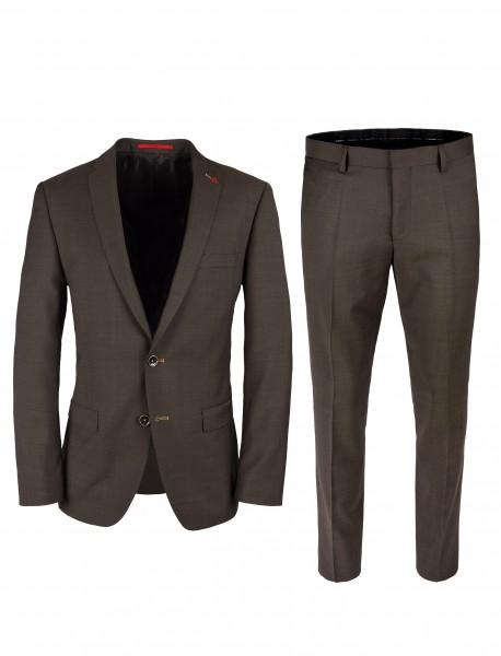 ROY ROBSON Herren Anzug Slim Fit 2-teilig Super'100 Business