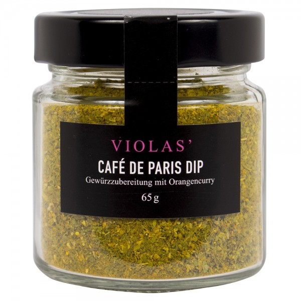 Café de Paris Dip mit Orangencurry