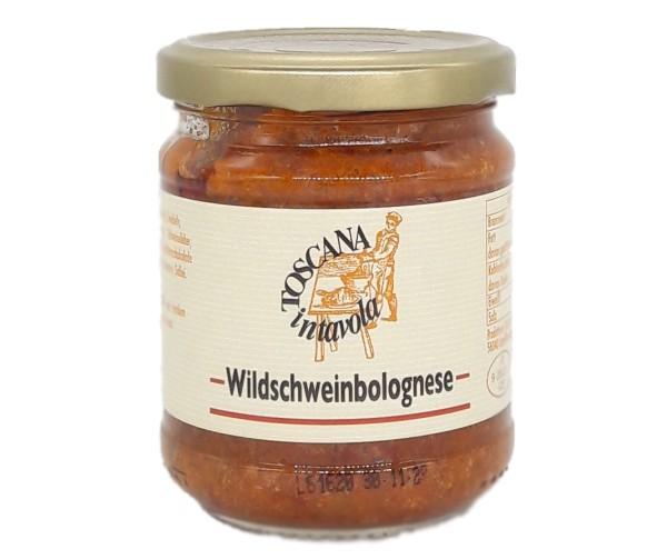 Wildschwein – Bolognese