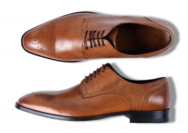 ROY ROBSON Schuhe Kalbsleder mit Ledersohle - cognac (5656-A220)