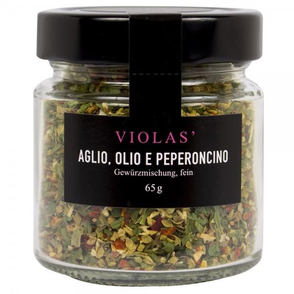 Aglio, Olio e Peperoncino fein (Glas)