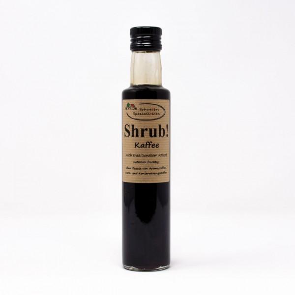 Shrub! Fruchtsirup mit Kaffee 0,25l
