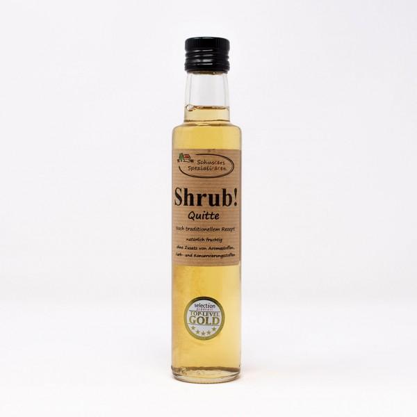 Shrub! Fruchtsirup mit Quitte 0,25l