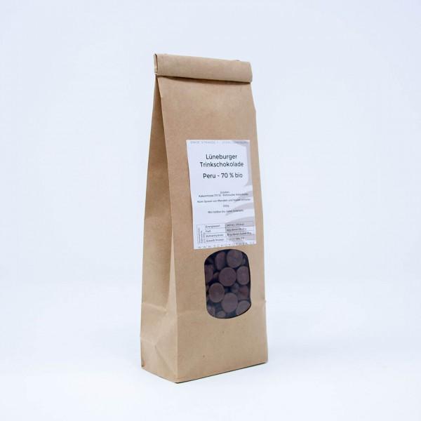Lüneburger Trinkschokolade - Peru 70 % Bio