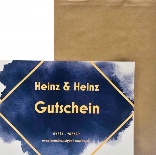 Gutschein - Heinz & Heinz
