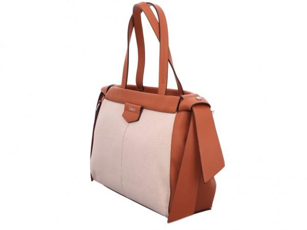 Gabor Bags 8611 137 ANGELINA Shopper, mixed cognac