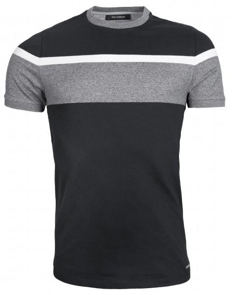 ROY ROBSON Herren T-Shirt aus Baumwoll-Piqué - Slim Fit
