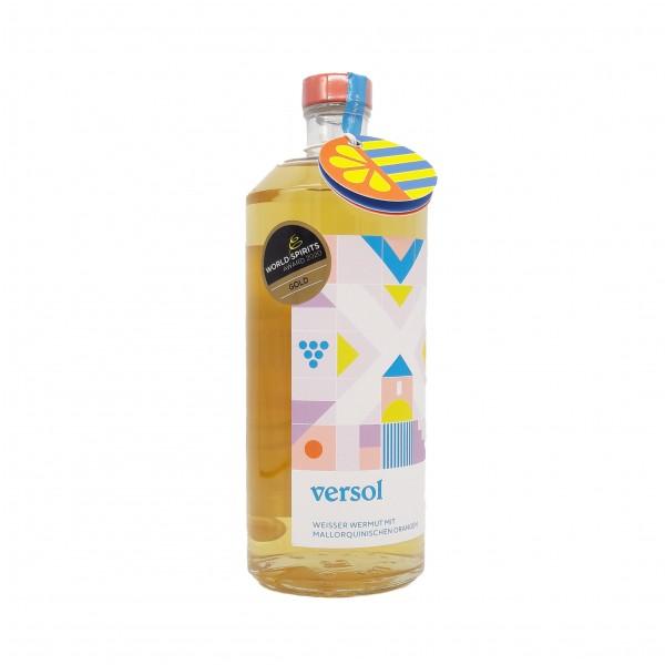 Weisser Wermut mit mallorquinischen Orangen – Versol Bianco