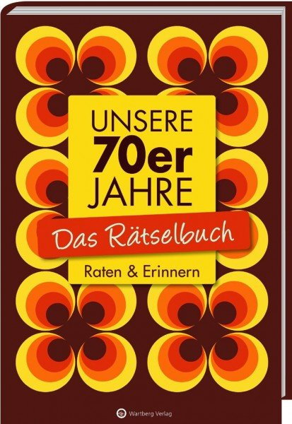 70er Jahre Rätselbuch