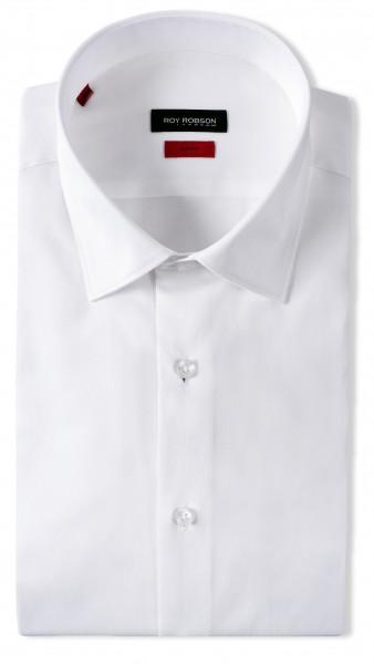 ROBSON Herren Hemd aus Baumwolle und Elasthan Slim Fit