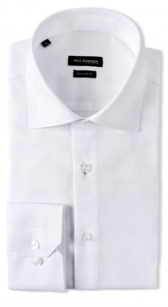 ROY ROBSON Herren Hemd aus Baumwolle Regular Fit Langarm