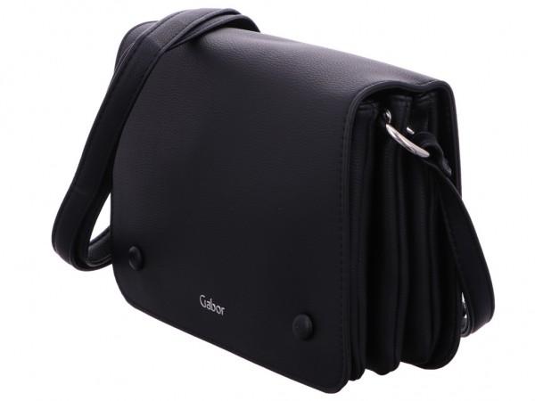 Gabor Bags 8321 60/60 FELIZIA Flap bag, black