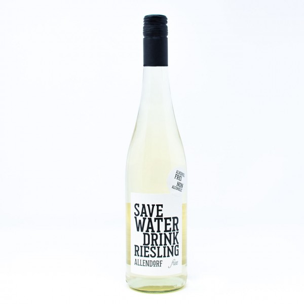 2018 SAVE WATER DRINK RIESLING free 0,75 l