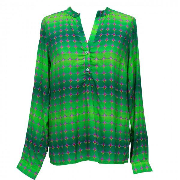 Emily van den Bergh Print-Bluse Dots