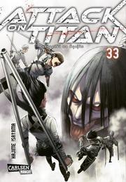Attack on Titan 33 von Hajime Isayama
