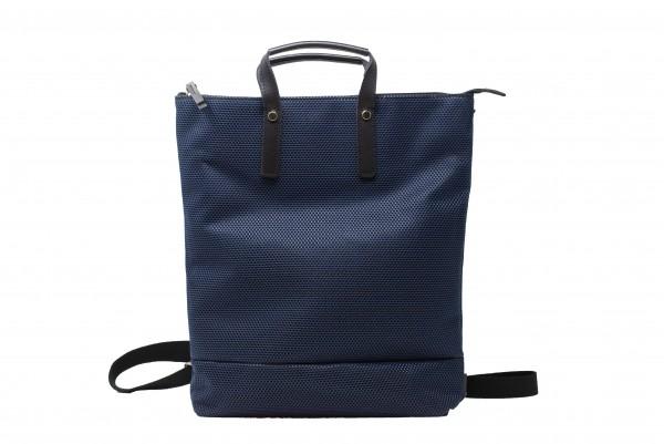 Jost Rucksack in einer blauen Nylon-Mesh Kombination