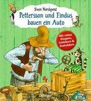 Pettersson und Findus bauen ein Auto von Sven Nordqvist