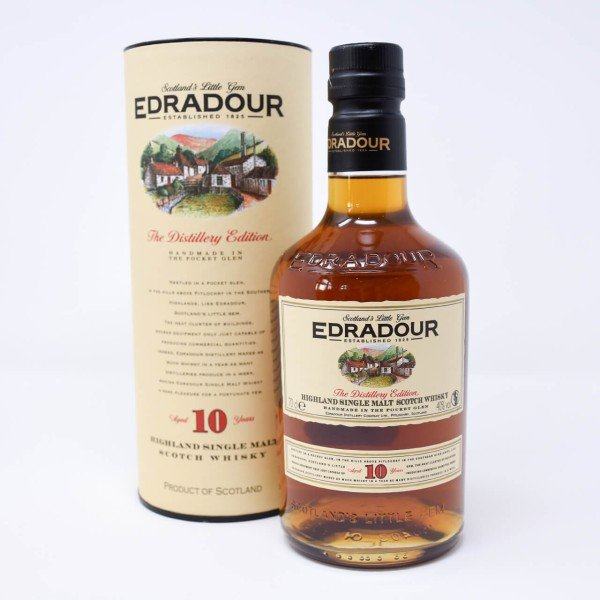 Edradour 10 Years Old Single Malt Whisky 0,7l