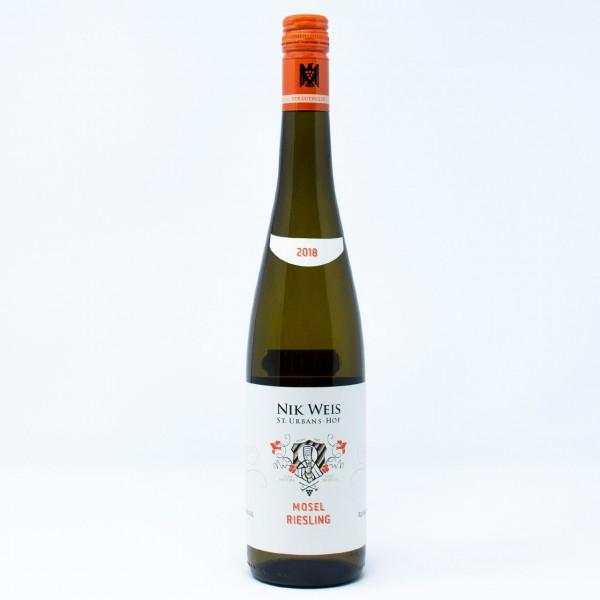 2018 Mosel Riesling VDP.GUTSWEIN 0,75 l Weingut Nik Weis St.Urbans-Hof, Mosel