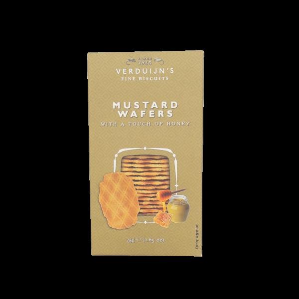 Pikante Honig – Senf – Waffeln